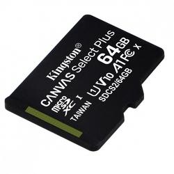 Kingston karta pamięci microsd  64gb canvas select plus 100mbs