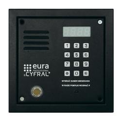 Panel cyfrowy cyfral pc-2000de czarny z dallas i elektroniką