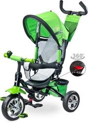 Toyz timmy green rowerek trójkołowy z obracanym siedziskiem + prezent 3d