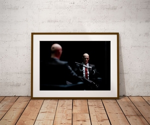 Hitman ver1 - plakat wymiar do wyboru: 50x40 cm