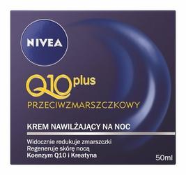 Nivea Q10 Plus, krem przeciwzamarszczkowy na noc, 50ml