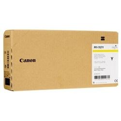 Tusz Oryginalny Canon PFI-707Y 9824B001 Żółty - DARMOWA DOSTAWA w 24h