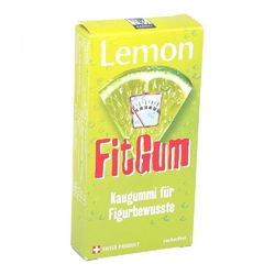 Lemon fitgum cytrynowa guma do żucia z l-karnityną