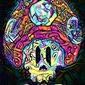 Psychoskulls, 1up, mario nintendo - plakat wymiar do wyboru: 21x29,7 cm