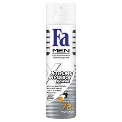 Fa men xtreme invisible, dezodorant  spray, 150ml