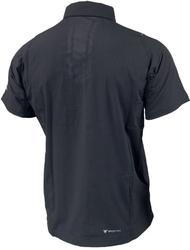 Koszulka shimano męska na guziki szara
