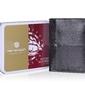 Modny skórzany portfel męski peterson 4497
