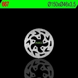 Ng667 tarcza hamulcowa gas gas 50 ectxt 150x46x3,5