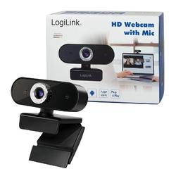 Logilink kamera internetowa hd z mikrofonem