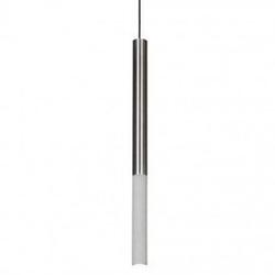 Loftlight :: lampa wisząca kalla inox szara wys. 97 cm