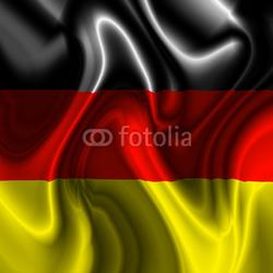 Obraz na płótnie canvas czteroczęściowy tetraptyk Bandiera germania-germany flag-flag niemcy