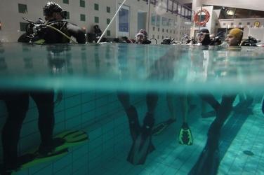 Zapoznanie z nurkowaniem dla dwojga - warszawa