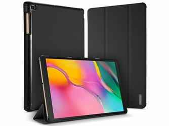 Etui Dux Ducis Domo do Samsung Galaxy Tab A 10.1 2019 T510T515 czarne - Czarny