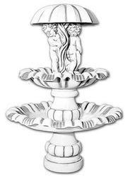 Vb fontanna ogrodowa betonowa z figurką 180cm