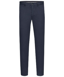 Męskie ciemnogranatowe spodnie typu chino  50