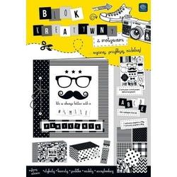 Blok kreatywny a4 - blackwhite 16 arkuszy - bwh