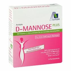 D-mannose Plus 2000 mg mit Vit.u.Mineralstof.Sticks