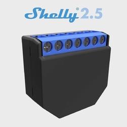 Przekaźnik wi-fi shelly 2.5 pm