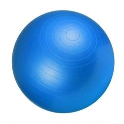 65cm piłka fitness gimnastyczna rehabilitacyjna gorilla sports niebieska