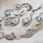 Muroto - srebrny komplet z cyrkoniami glamour