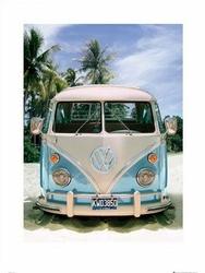 Vw Californian Camper Beach - reprodukcja