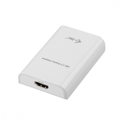I-tec usb3.0 hdmi adapter fullhd+ 2048x1152 px. konwerter portu hdmi zewnętrzna karta graficzna