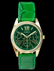 Zegarek damski PERFECT E621 - green zp755c