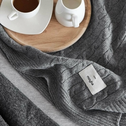 Pled Soft wool grey