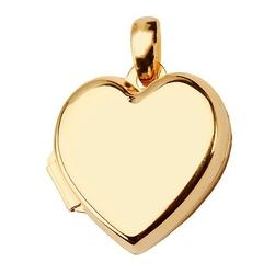wisiorek złoty serduszko otwierane
