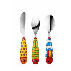 Komplet sztućców dziecięcych 3 el. LOL Vialli Design