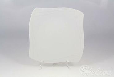 Talerz płytki 25 cm - VANITY Biały