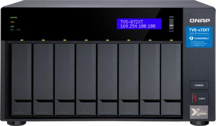 SIECIOWY SERWER PLIKÓW NAS QNAP TVS-872XT-i5-16G - Szybka dostawa lub możliwość odbioru w 39 miastach