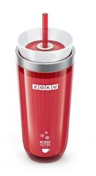 Kubek do mrożonej kawy lub herbaty Iced Coffee Maker czerwony