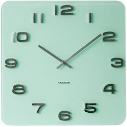 Zegar ścienny Vintage Karlsson zielony KA5488PG
