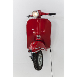 KARE Design :: Lampa ścienna Scooter Red Big