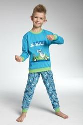 Cornette 59375 Speed turkusowy piżama chłopięca