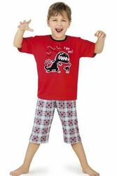 Cornette 54117 czerwony piżama chłopięca