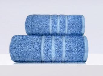 Ręcznik b2b frotex niebieski 90 x 150