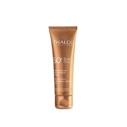 Thalgo krem ochronny spf 50 thalgo age defence sun cream spf 50 - 50 ml dostawa gratis