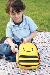 Lanczówka torba śniadaniowa dla dzieci zoo pszczoła skip hop 3+
