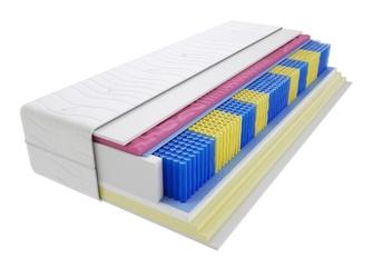 Materac kieszeniowy zefir molet multipocket 80x135 cm miękki  średnio twardy 2x visco memory