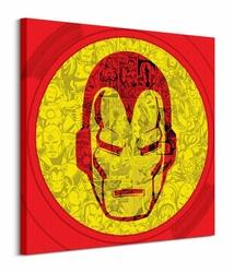 Marvel Iron Man Helmet Collage - Obraz na płótnie