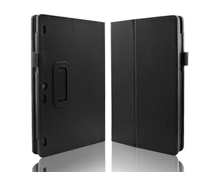 Czarne etui typu stand cover lenovo tab 2 a10-30 - czarny