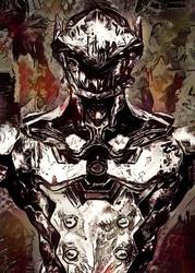 Legends of bedlam - genji, overwatch - plakat wymiar do wyboru: 29,7x42 cm