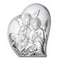Ryngraf z powłoką srebra z aniołkami vl810841l - ok. 11 cm  ok. 9 cm