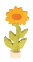 Drewniana figurka, Kwiat Nagietek, Grimms