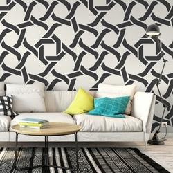 Tapeta na ścianę - modern chain , rodzaj - tapeta flizelinowa