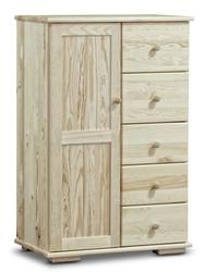 Bieliźniarka z drewna sosnowego modern i