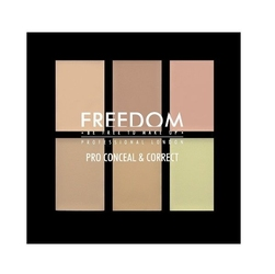 Freedom makeup pro conceal palette light