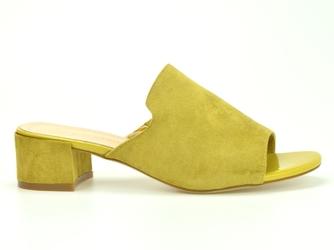 Klapki sergio leone kl313 żółte